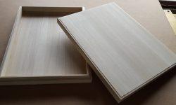 「賞状」を入れる木箱