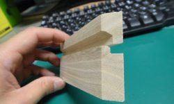 印籠木箱の蓋側と本体側の構造