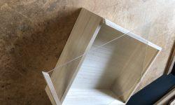 「植物」を入れる木箱